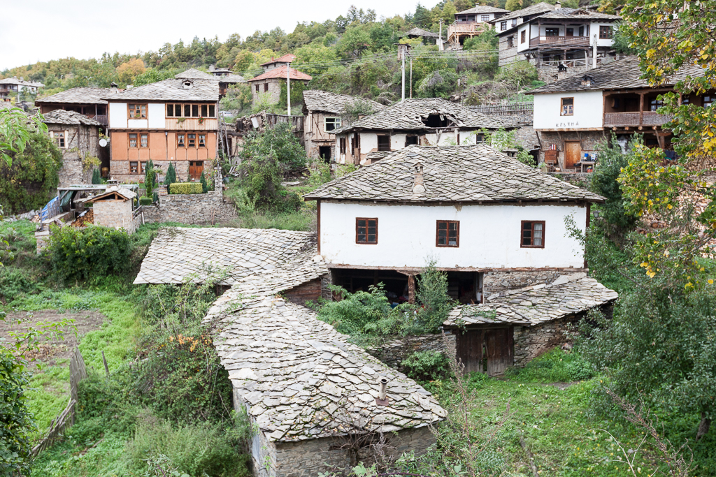 The village of Leshten, Bulgaria